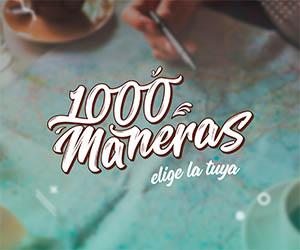 1000 maneras logo